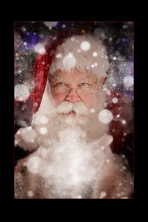 Santa Portrait at Chesler Photography