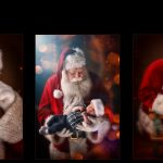 Santa's back!!! Christmas portraits with the best Santa ever!