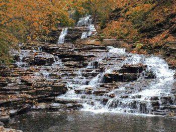 cascadilla falls, Ithaca NY