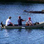 fishermen fishing on the Admiral Nelson