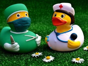 nurse gifts - nurse rubber duckies