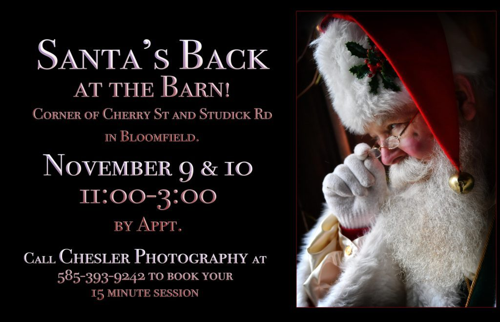 Santa Photos by Chesler Photography