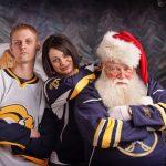Buffalo Sabres jerseys and Santa
