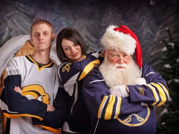 Buffalo Sabres jerseys and Santa