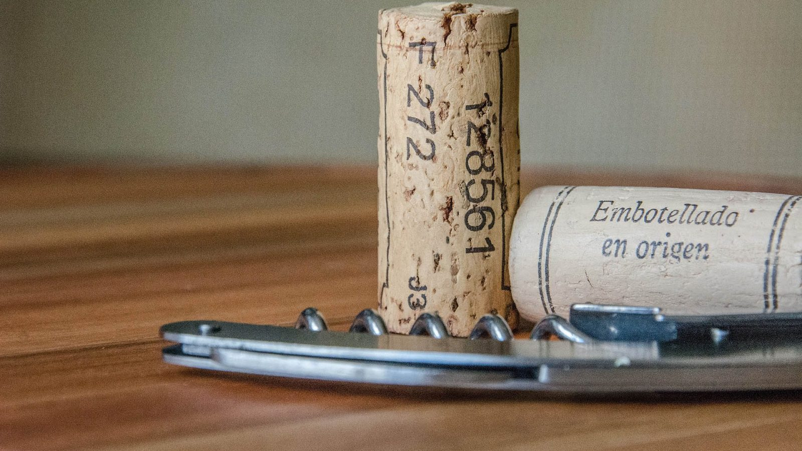 Cork and Corkscrew