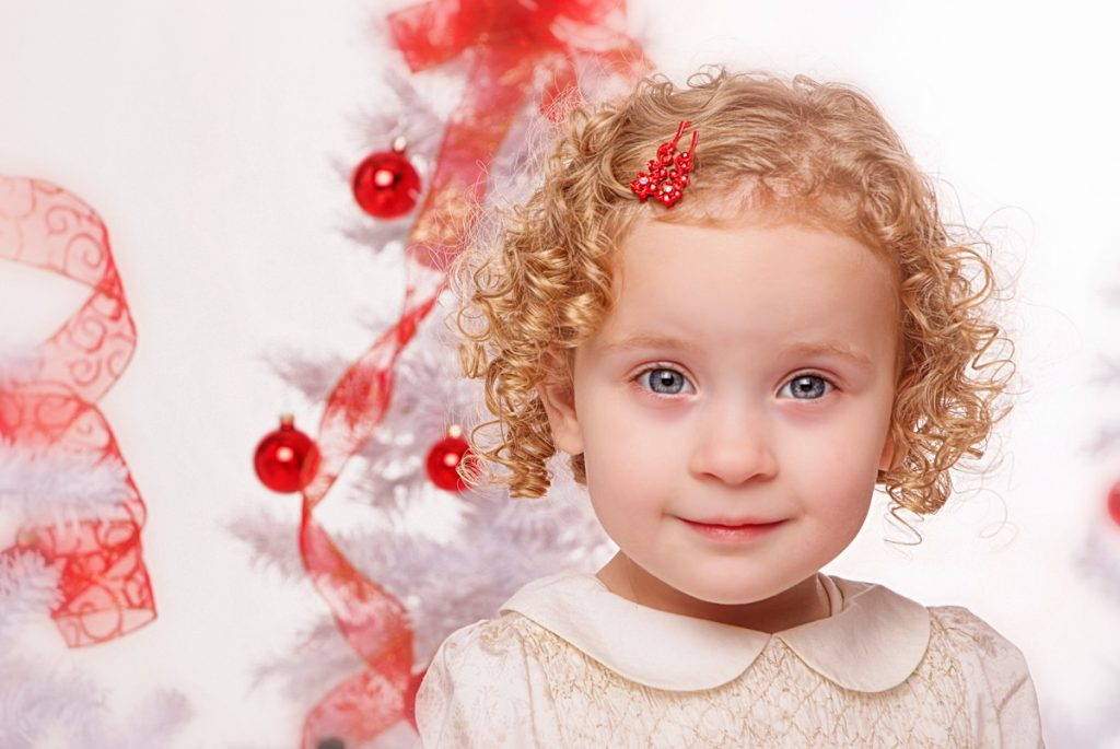 Holiday Childrens Portrait by Chesler Photography
